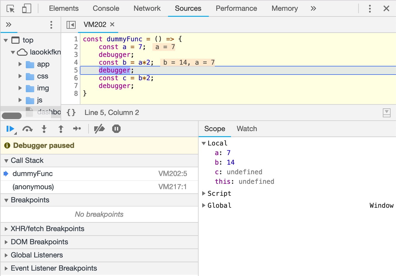 Logging and debugging in JavaScript  A few methods I use on a daily
